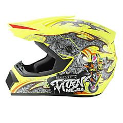 お買い得  カーアクセサリー-オフロードバイクレーシングヘルメットキャピタルpパターンフルフェイススピードレーシング耐久性のあるモータースポーツヘルメット