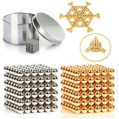 cheap Special Deals-Magnet Toy Building Blocks Neodymium Magnet Magnetic Balls 216pcs 3mm Magnet Metal Magnetic Sphere Cylindrical Unisex Toy Adults Gift