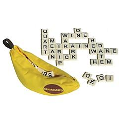 abordables Kid tablet-bananagrams lectura de juguetes juguetes familia cuadrada interacción padre-hijo carcasa de plástico 120 piezas
