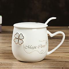お買い得  マグカップ-ティーカップ / ウォーターボトル / マグカップ / お茶&飲み物 1 PC セラミック, -  高品質