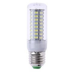 abordables Ampoules LED-SENCART 1pc 7W 1200 lm E14 G9 GU10 E26/E27 B22 Ampoules Maïs LED T 72 diodes électroluminescentes SMD 5730 Décorative Blanc Chaud Blanc