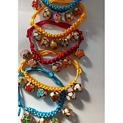 お買い得  犬用首輪/リード/ハーネス-犬用 猫用 カラー 折りたたみ式 柔軟な調整可能 ベル ソリッド ナイロン イエロー レッド ブルー