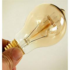 hesapli LED ve Işıklar-1pc 40W E26 / E27 A60(A19) Sıcak Beyaz 2300k Retro Kısılabilir Dekorotif Incandescent Vintage Edison Ampul 220-240V