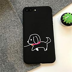 Недорогие Кейсы для iPhone 6 Plus-Кейс для Назначение Apple iPhone X iPhone 7 Plus С узором Кейс на заднюю панель Мультипликация Мягкий ТПУ для iPhone X iPhone 8 Pluss
