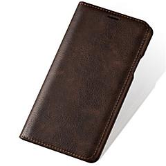 Недорогие Кейсы для iPhone-Кейс для Назначение Apple iPhone X iPhone 7 Plus Спиннеры от стресса Бумажник для карт Кошелек со стендом Чехол Сплошной цвет Твердый