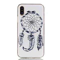 お買い得  iPhone 5S/SE ケース-ケース 用途 Apple iPhone X / iPhone 8 パターン バックカバー ドリームキャッチャー ソフト TPU のために iPhone X / iPhone 8 Plus / iPhone 8