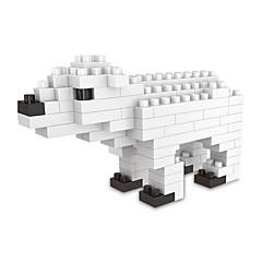 저렴한 -조립식 블럭 1 pcs 애니멀 장난감 곰 선물