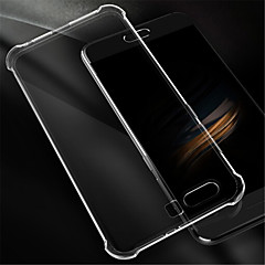 billige Etuier/covers til Huawei-Etui Til Huawei Honor 9 Stødsikker Transparent Bagcover Helfarve Blødt Silikone for Honor 9