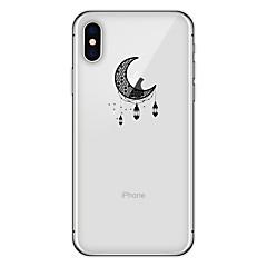 お買い得  iPhone 5S/SE ケース-ケース 用途 Apple iPhone X iPhone 8 Plus パターン バックカバー Appleロゴアイデアデザイン ソフト TPU のために iPhone X iPhone 8 iPhone 7 Plus iPhone 7 iPhone 6s Plus