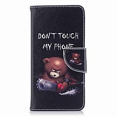 tanie Etui / Pokrowce do Huawei-Kılıf Na Huawei P9 lite mini P8 Lite (2017) Etui na karty Portfel Z podpórką Flip Wzór Pełne etui Napis Twarde Skóra PU na P10 Plus P10