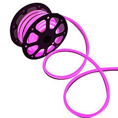 お買い得  LED ストリングライト-フレキシブルLEDライトストリップ 360 LED 温白色 ホワイト ピンク グリーン イエロー ブルー レッド カット可能 防水 接続可 220V