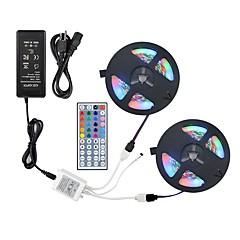お買い得  LED ストリングライト-ZDM® 2x5M RGBストリップライト 600 LED 1 44キーリモコン / 1 ACケーブル / 1 x 12V 3Aアダプタ RGB カット可能 / 装飾用 / ノンテープ・タイプ 12 V 1セット