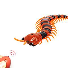 abordables otra novedad-Juguetes para bromas Animal por control remoto Juguetes Ciempiés milpiés Bicho Control remoto Simulación El plastico ABS 1 Piezas