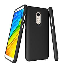 Недорогие Чехлы и кейсы для Xiaomi-Кейс для Назначение Xiaomi Redmi Примечание 5A Redmi 5 Plus Защита от удара Кейс на заднюю панель Однотонный Твердый ПК для Redmi Note 5A