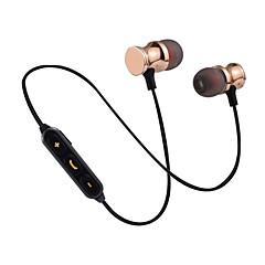 preiswerte Headsets und Kopfhörer-Im Ohr Bluetooth 3.0 Kopfhörer híbrido Kunststoff Sport & Fitness Kopfhörer Bequem / Mit Lautstärkeregelung / Stereo Headset