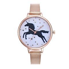 お買い得  メンズ腕時計-男性用 中国 クロノグラフ付き / クリエイティブ ステンレス バンド シルバー / ゴールド / ローズゴールド