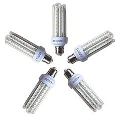 お買い得  LED 電球-5個 15W 1200lm E26 / E27 LEDコーン型電球 T 72 LEDビーズ SMD 2835 温白色 220-240V