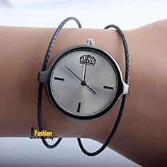 cheap Couple Watches-Women's Couple's Casual Watch Fashion Watch Quartz Silver Casual Watch Analog Ladies Casual Fashion - Black Silver Rose