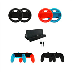 abordables Accesorios para Nintendo Switch-iPEGA Sin Cable Kits de accesorios para juegos Para Interruptor de Nintendo ,  Kits de accesorios para juegos ABS 10 pcs unidad