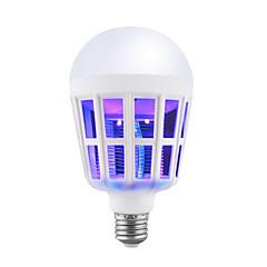 preiswerte LED-Birnen-BRELONG® 1pc 15W 9W 200lm E26 / E27 LED Kugelbirnen 12 LED-Perlen SMD Insekt-Moskito-Fliegen-Mörder Weiß 220-240V