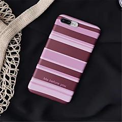 Недорогие Кейсы для iPhone-Кейс для Назначение Apple iPhone 7 Plus / iPhone 6s С узором Кейс на заднюю панель Полосы / волосы Мягкий ТПУ для iPhone 7 Plus / iPhone