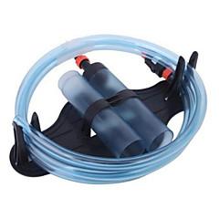 abordables Accesorios para Acuarios y Peces-Waterproof Tubos Tubos y Túneles Impermeable Portátil Fácil de Instalar Lavable Plásticos