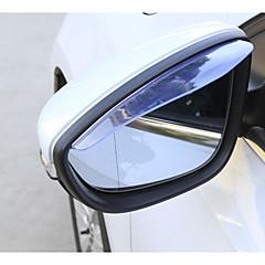 お買い得  カーデコレーション-2pcs 車 車の雨の眉 ビジネス ペーストタイプ For バックミラー For ユニバーサル 全ての機種 2014 / 2013 / 2012