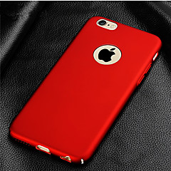 voordelige iPhone 6 hoesjes-hoesje Voor Apple iPhone 8 iPhone 8 Plus iPhone 5 hoesje iPhone 6 iPhone 7 Beplating Achterkant Effen Kleur Hard PC voor iPhone 8 Plus