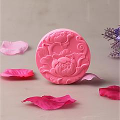 お買い得  ベイキング用品&ガジェット-ベークツール シリコーンゴム ホリデー / 創造的 / 誕生日 日常使用 円形 ケーキ型 1個