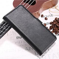Недорогие Чехлы и кейсы для Xiaomi-Кейс для Назначение Xiaomi Redmi 5 Plus Xiaomi Mi Mix 2S Бумажник для карт Кошелек со стендом Флип Чехол Однотонный Твердый Настоящая кожа