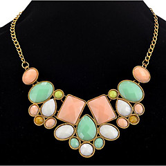 cheap Necklaces-Women's Statement Necklace  -  Vintage, Party, Sweet Pink 45 cm Necklace For Party, Holiday