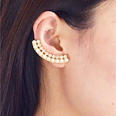 preiswerte Ohrringe-Geometrisch Tropfen-Ohrringe - Künstliche Perle Modisch Gold Für Alltag Verabredung