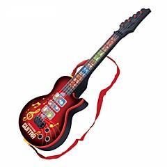 abordables Caja de Música-Guitarra Eléctrica Guitarra Luces Música Chico Chica Juguet Regalo 1 pcs