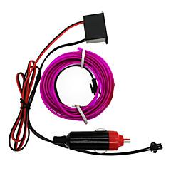 お買い得  LED ストリングライト-HKV 5m ストリングライト 1 LED ホワイト / レッド / ブルー 防水 12 V 1個 / IP65