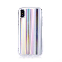 Недорогие Кейсы для iPhone-Кейс для Назначение Apple iPhone X iPhone 8 С узором Кейс на заднюю панель Полосы / волосы Мягкий ТПУ для iPhone X iPhone 8 Pluss iPhone