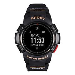 abordables Relojes Inteligentes-Relojes con Alarma / Reloj Multifunción / Reloj elegante YY-F6 para Android 4.4 / iOS Calorías Quemadas / Podómetros / Sensor de Actividad Cardíaca / Control APP Pulse Tracker / Reloj Cronómetro