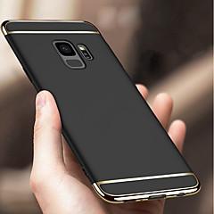 billige -Etui Til Samsung Galaxy S9 Plus / S9 Stødsikker / Belægning Bagcover Ensfarvet Hårdt PC for S9 / S9 Plus / S8 Plus