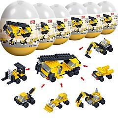 olcso -Építőkockák 194pcs Építészet / Járművek Stressz és szorongás oldására / Szülő-gyermek interakció Tehergépkocsi / Dózer Ajándék