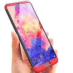 お買い得  Huawei Pシリーズケース/ カバー-ケース 用途 Huawei P20 lite P20 超薄型 フルボディーケース ソリッド ハード PC のために Huawei P20 lite Huawei P20 Pro Huawei P20 P10 Plus P10 Huawei P9