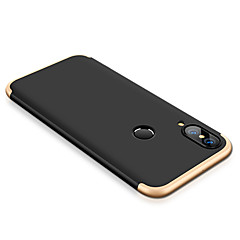 cheap Cases / Covers for Huawei-Case For Huawei P20 lite Shockproof Full Body Cases Solid Colored Hard PC for Huawei P20 lite