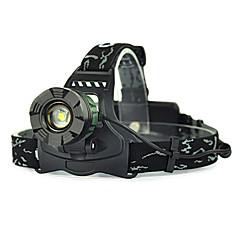 お買い得  ヘッドランプ-ヘッドランプ LED 5000 lm 1 グリーン キャンプ / ハイキング / ケイビング