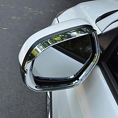 preiswerte Auto Dekoration-2pcs Auto Auto Regen Augenbrauen Geschäftlich Einfügen-Typ für Rückspiegel Für Honda XRV / Vezel Alle Jahre