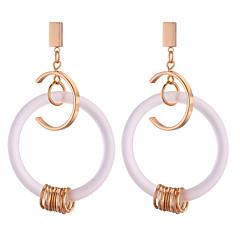 preiswerte Ohrringe-Tropfen-Ohrringe - Einfach, Europäisch, Modisch Gold Für Alltag