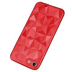 Недорогие Кейсы для iPhone-Кейс для Назначение Apple iPhone X / iPhone 8 Plus Ультратонкий Кейс на заднюю панель Однотонный Мягкий ТПУ для iPhone X / iPhone 8 Pluss