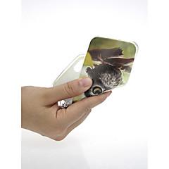 Недорогие Кейсы для iPhone 7-Кейс для Назначение Apple iPhone X / iPhone 7 Ультратонкий / С узором / Милый Кейс на заднюю панель Сова Мягкий ТПУ для iPhone X / iPhone