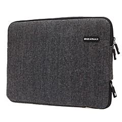 "abordables Fundas para Portátil-Tejido de lana Un Color Mangas Laptop de 12 """