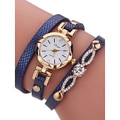 preiswerte Damenuhren-Damen Armband-Uhr Chinesisch Chronograph PU Band Modisch / Armreif Schwarz