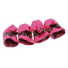 halpa Koirat-Koirat / Kissat Bootsit / Pet Kengät Urheilu ja ulkoilu Yhtenäinen Punainen / Sininen / Pinkki Lemmikit