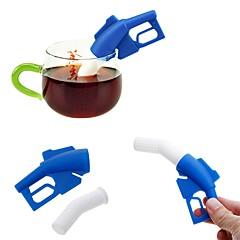 preiswerte -Silikon Kreative Küche Gadget Benzinpistole 1pc Teesieb