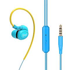 お買い得  ヘッドセット、ヘッドホン-DM100 EARBUD ケーブル ヘッドホン 動的 銅 携帯電話 イヤホン ハイファイ マイク付き ヘッドセット